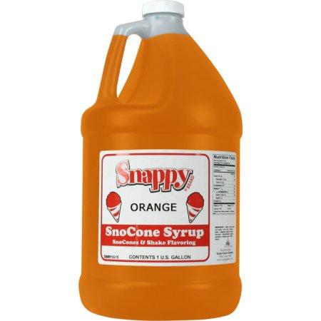 Make Natural Snow Cone Syrup