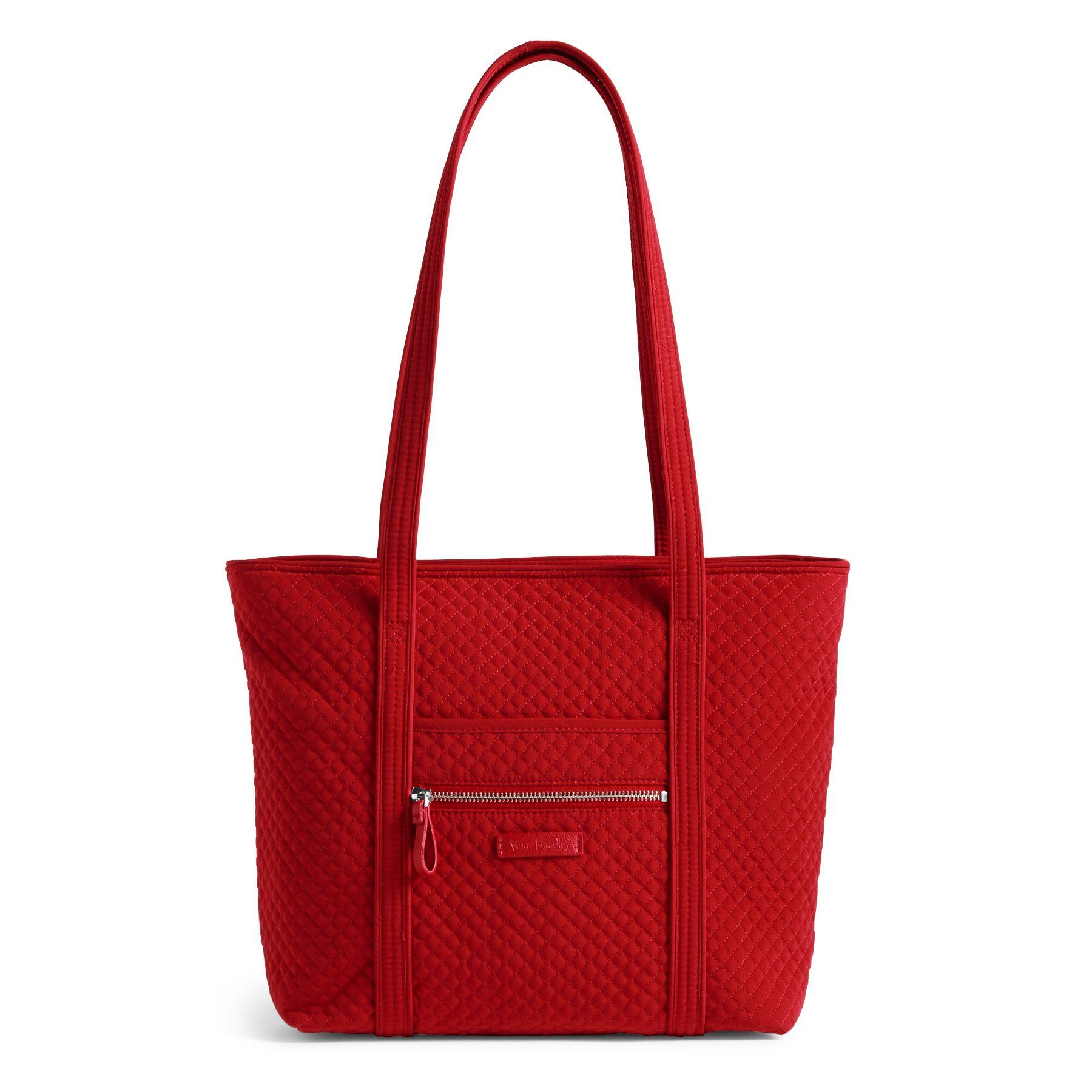 Vera Bradley Iconic Small Vera Women's Tote Bag in Cardinal RedTotes