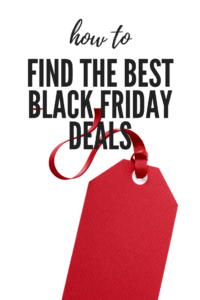 how to find the best black friday deals