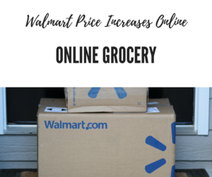 Walmart price increases online
