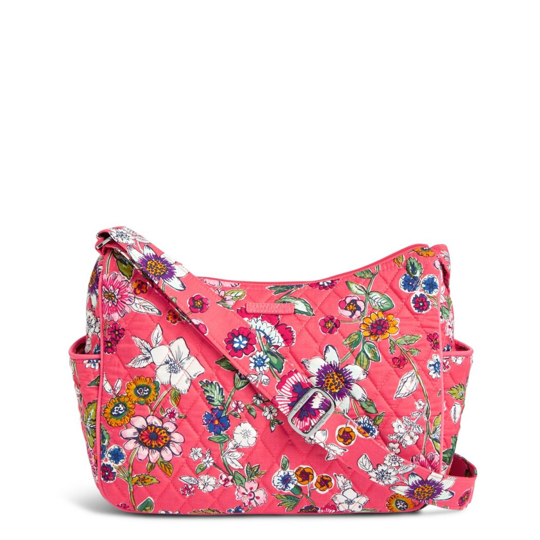Go For Oversized Florals: Vera Bradley On The Go In Coral Floral
