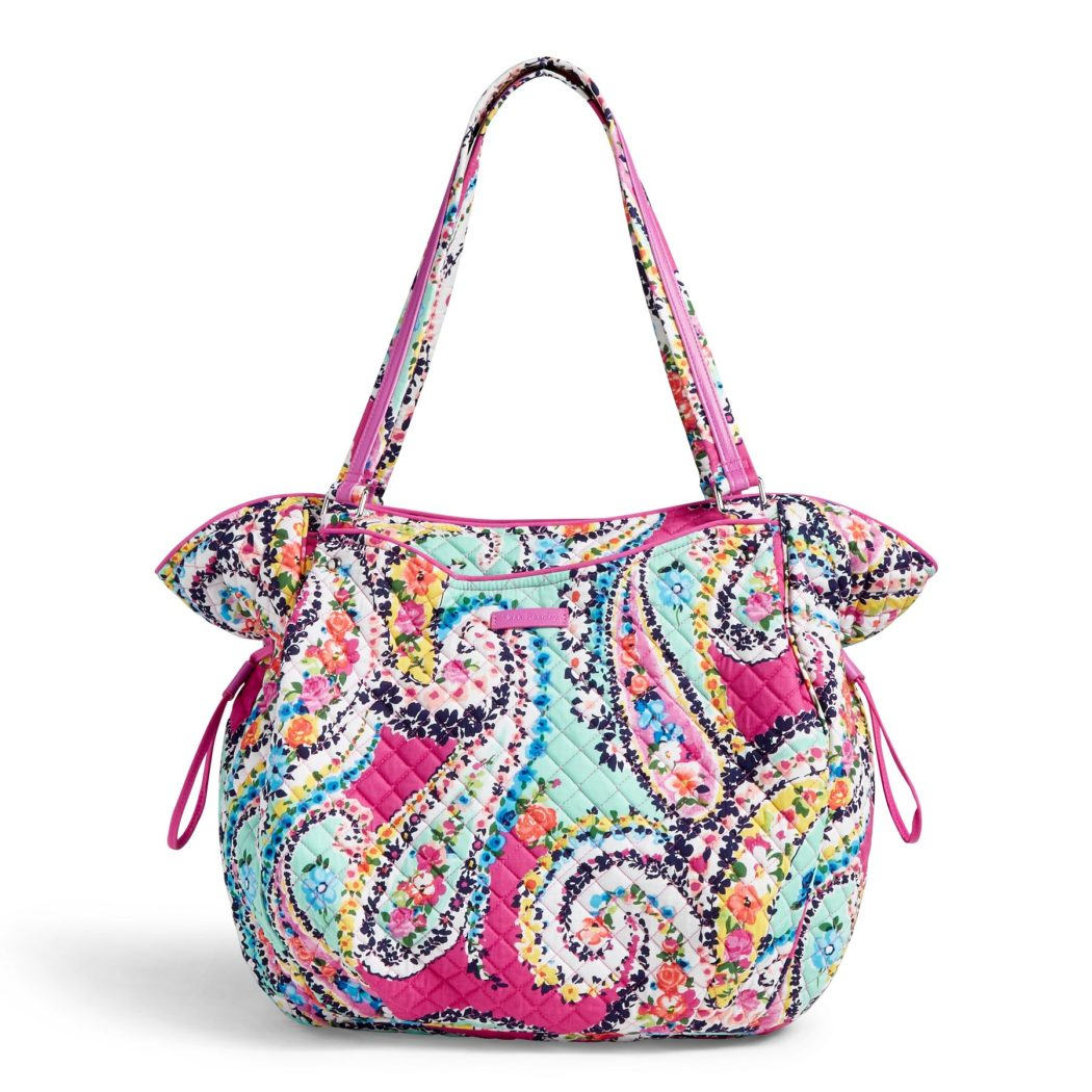 Vera Bradley Iconic Glenna Women's Tote Bag in Wildflower PaisleyTotes