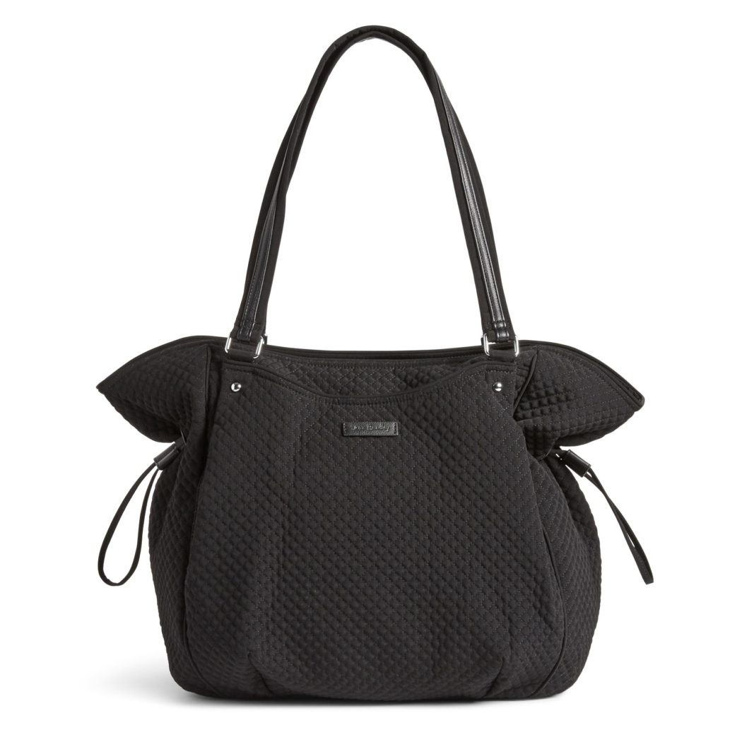 Vera Bradley Iconic Glenna Women's Tote Bag in Classic BlackTotes
