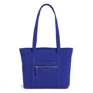 Vera Bradley Iconic Small Vera Women's Tote Bag in Gage BlueTotes