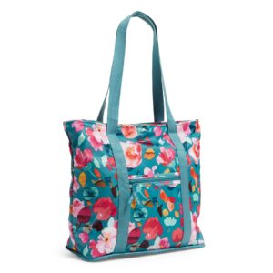 Vera Bradley Packable Women's Tote Bag in Scattered SuperbloomTotes