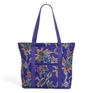 Vera Bradley Packable Women's Tote Bag in Paisley SwirlsTotes