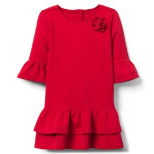 Janie and Jack Christmas girls dress
