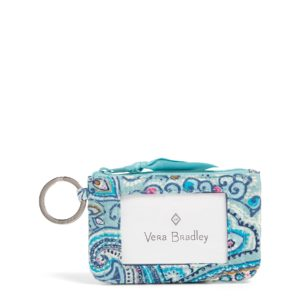 Vera Bradley Iconic Zip ID Case in Daisy Dot PaisleyIds/Keychains