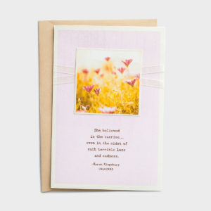 Karen Kingsbury - Sympathy - Loss & Sadness - 6 Premium Cards For those whose hearts are hurting during times of terrible loss