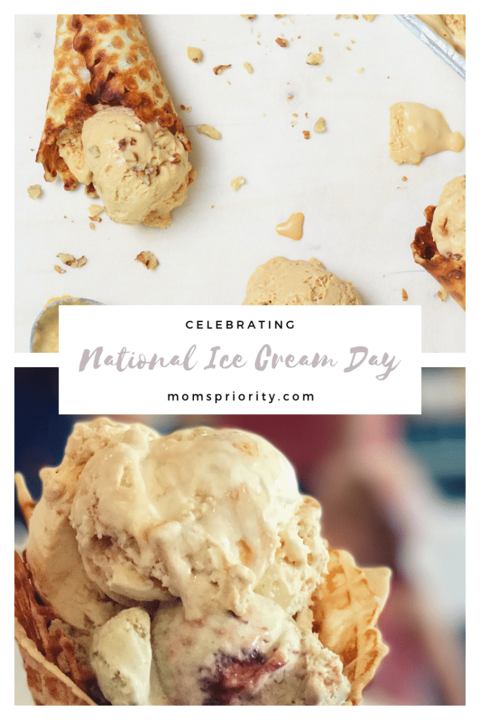 celebrating national ice cream day with easy homemade ice cream
