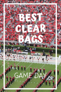 clear bags for game day