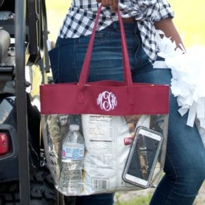 best clear bags for game day