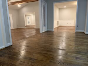 farmhouse remodel hardwood floors