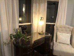 farmhouse remodel master bedroom after 2