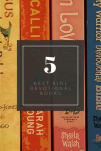 5 best kids devotional books