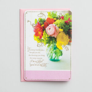 Mother's Day - Thanking God for You - 1 Premium Card Express words of love
