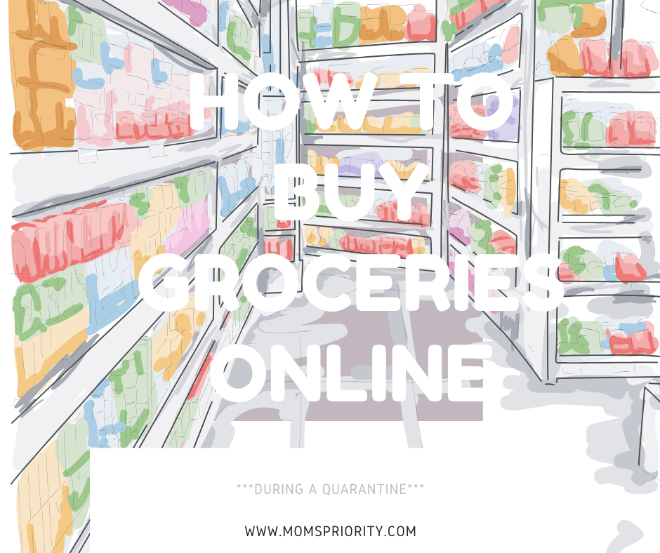 how to buy groceries online during a quarantine
