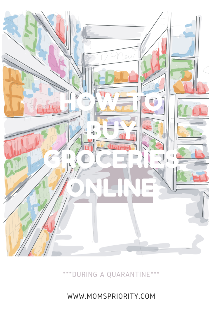 how to buy groceries online during quarantine